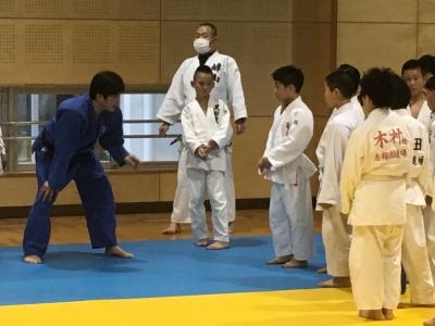 4月9日(日) 福知山柔道教室様主催 合同練習