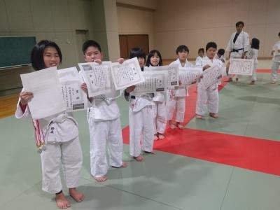 第25回高浜町少年少女柔道大会 試合結果