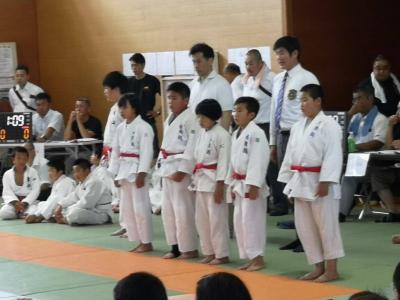 第15回宮津与謝柔道連盟杯ジュニア大会 結果